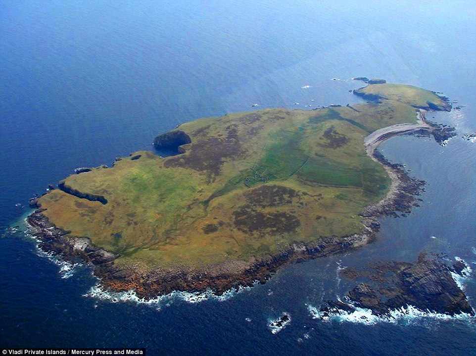 Islands For Sale Off Irish Donegal Coast