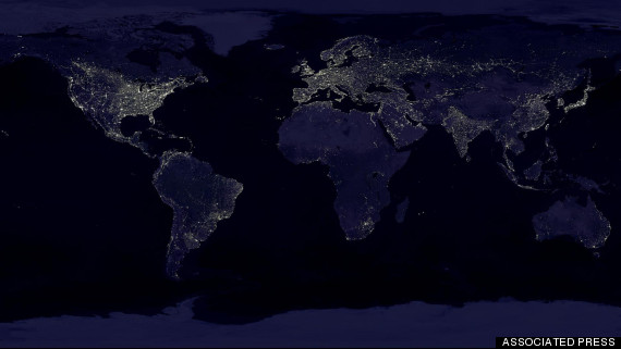 APTOPIX Earth At Night
