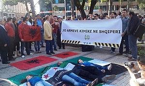 Armet-kimike-protesta