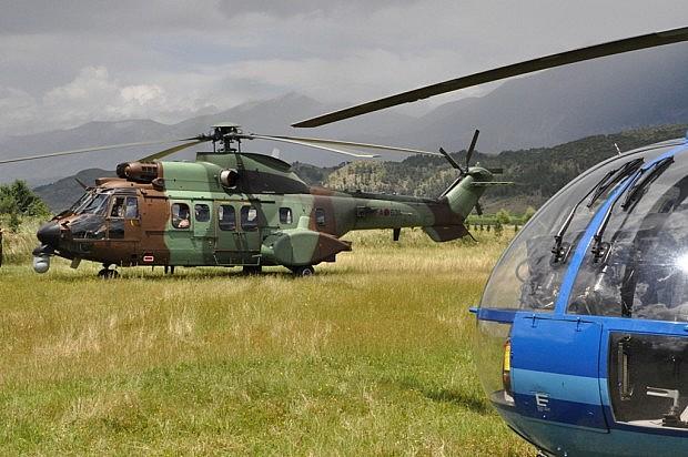 helikopter-policie
