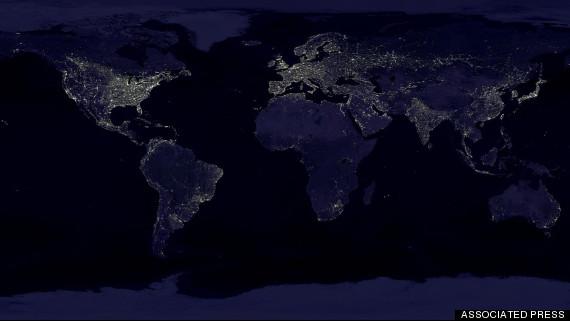 APTOPIX Earth At Night