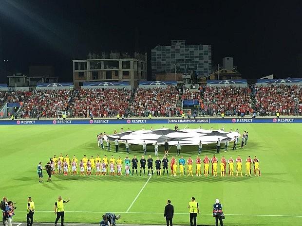Dinamo Zagreb-Skënderbeu